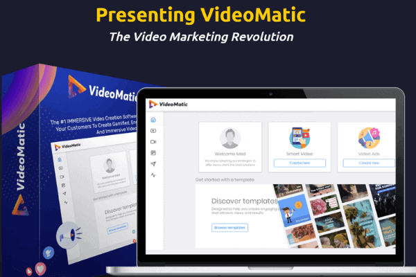 VideoMatic Interactive Video Making Software