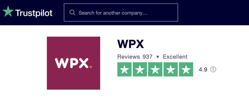 WPX Trust Radius Screenshot